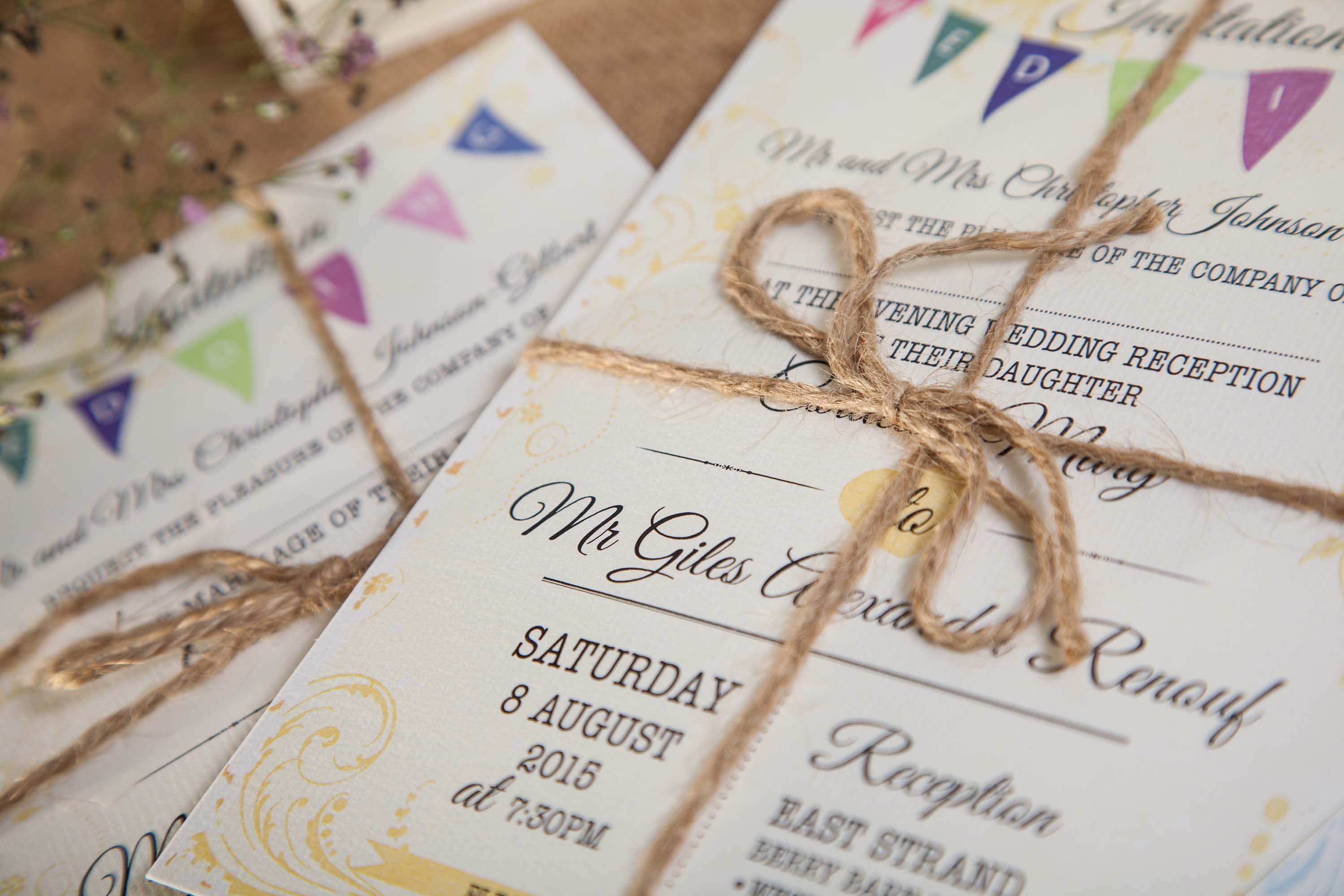 VINTAGE BUNTING | The Wedding Print Shop